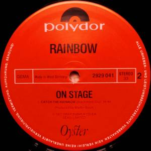 Rainbow: On Stage (2-LP) - Bild 4