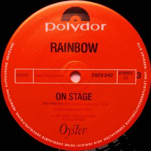 Rainbow: On Stage (2-LP) - Bild 5