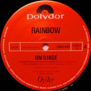 Rainbow: On Stage (2-LP) - Bild 6