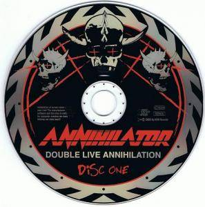 Annihilator: Double Live Annihilation (2-CD) - Bild 3