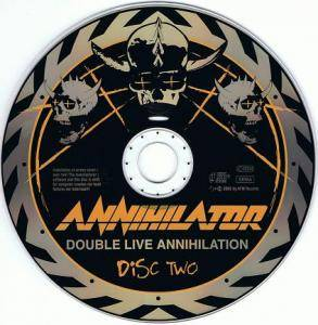 Annihilator: Double Live Annihilation (2-CD) - Bild 4