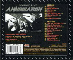 Annihilator: Double Live Annihilation (2-CD) - Bild 6