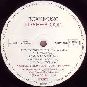 Roxy Music: Flesh + Blood (LP) - Bild 2
