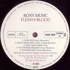 Roxy Music: Flesh + Blood (LP) - Bild 3