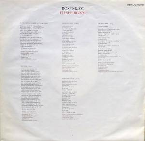 Roxy Music: Flesh + Blood (LP) - Bild 5