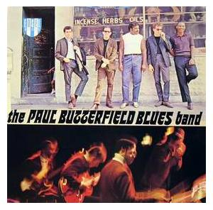 Paul Butterfield Blues Band, The: Paul Butterfield Blues Band, The - Cover