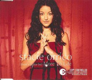Cover - Stacie Orrico: (There's Gotta Be) More To Life