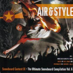 Air & Style - The Ultimate Snowboard Compilation 6 - Cover