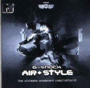 Air & Style - The Ultimate Snowboard Compilation 4 - Cover