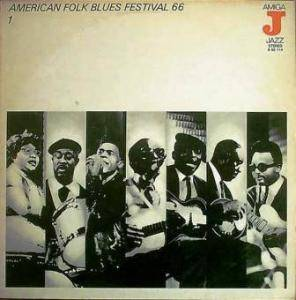 Cover - Sippie Wallace: American Folk Blues Festival 66 - 1