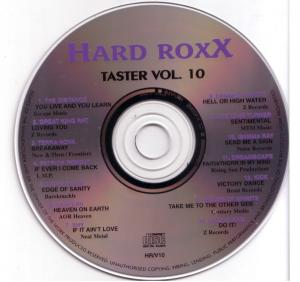 Cover - Various Artists/Sampler: Hard Roxx - Taster Vol. 10