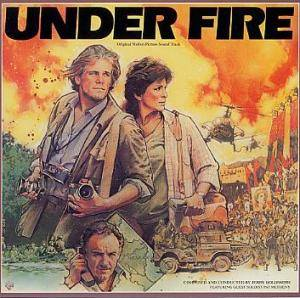 Jerry Goldsmith: Under Fire - Cover