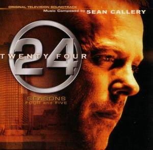 Cover - Sean Callery: 24 Seasons 4 & 5