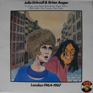Cover - Brian Auger: London 1964-1967