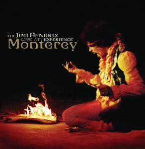The Jimi Hendrix Experience: Live At Monterey - Cover