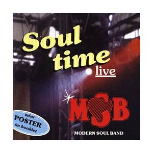 Cover - Modern Soul Band: Soultime Live