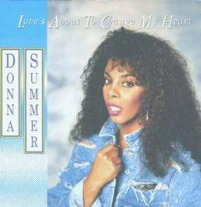 Donna Summer: Love's About To Change My Heart - Cover