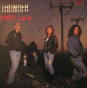 Thunder: Dirty Love - Cover