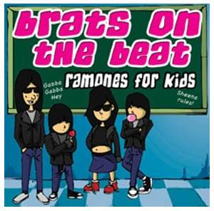 Cover - Josie Cotton: Brats On The Beat - Ramones For Kids