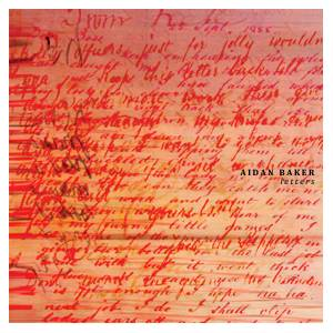 Cover - Aidan Baker: Letters