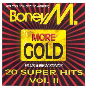 Boney M.: More Gold - 20 Super Hits Vol. II - Cover