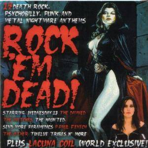 Cover - Matches, The: Rock 'Em Dead!