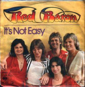 Cover - Red Baron: It's Not Easy