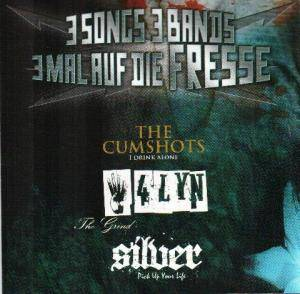 Cover - Cumshots, The: 3 Songs 3 Bands 3 Mal Auf Die Fresse