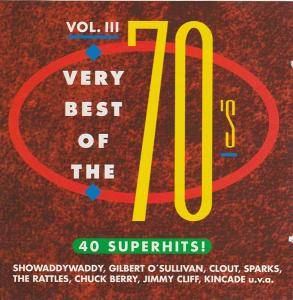 Very Best Of The 70's Vol. III - Cover