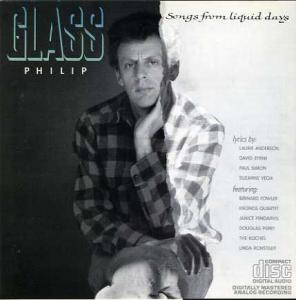 Philip Glass: Songs From Liquid Days - Cover