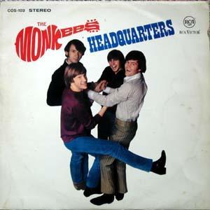 Monkees, The: Headquarters - Cover