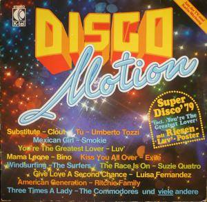 Disco Motion - Cover