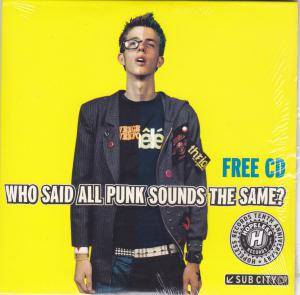 Cover - Break The Silence: Who Said All Punk Sounds The Same?