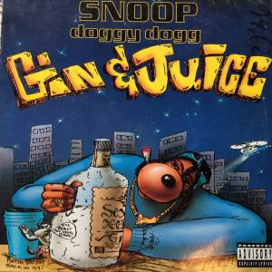 Cover - Snoop Doggy Dogg: Gin & Juice