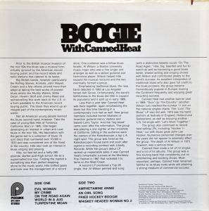 Canned Heat: Boogie With Canned Heat (LP) - Bild 2