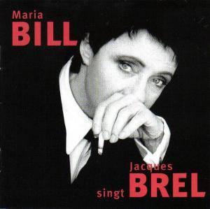 Cover - Maria Bill: Singt Jacques Brel