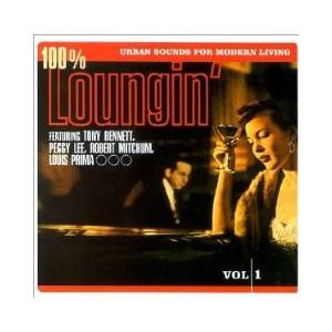 Cover - Dusty Springfield: 100% Loungin' - Urban Sounds For Modern Living Vol. 1