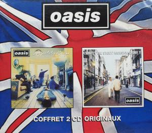Oasis: Definitely Maybe / (What's The Story) Morning Glory? - Cover