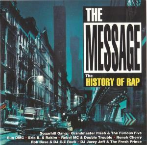 Message - The History Of Rap, The - Cover