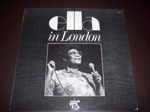 Ella Fitzgerald: Ella In London - Cover