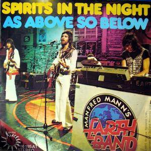 Manfred Mann's Earth Band: Spirits In The Night - Cover