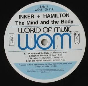 Inker & Hamilton: The Mind And The Body (LP) - Bild 3