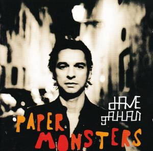 Dave Gahan: Paper Monsters - Cover