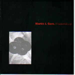 Martin L. Gore: Counterfeit E.P - Cover