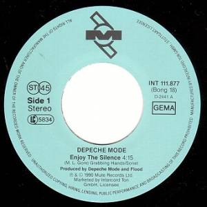 "Depeche Mode: Enjoy The Silence (7"") - Bild 3"