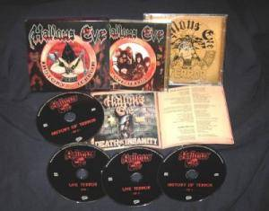 Hallows Eve: History Of Terror (3-CD + DVD) - Bild 2