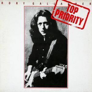 Cover - Rory Gallagher: Top Priority