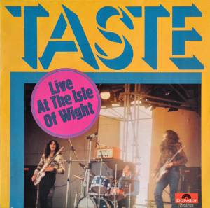 Taste: Live At The Isle Of Wight - Cover