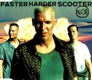 Scooter: Fasterharderscooter - Cover