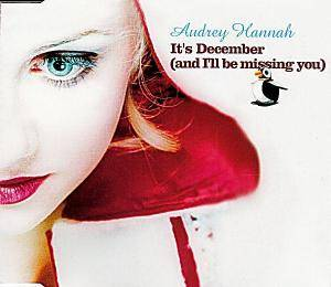 Cover - Audrey Hannah: It's December (And I'll Be Missing You)